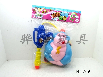 H168591 - Orangutans backpack water gun
