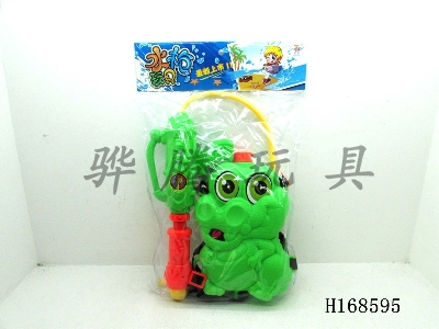 H168595 - Crocodile backpack water gun