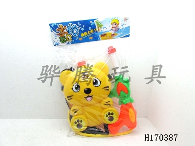 H170387 - Tiger backpack water gun