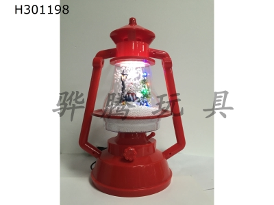 H301198 - 31 red lantern + Christmas tree + snowman