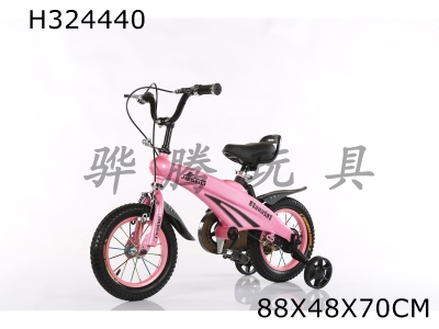 H324440 - Space Children's Bicycle 12 inches (Pink, Tuhaojin)