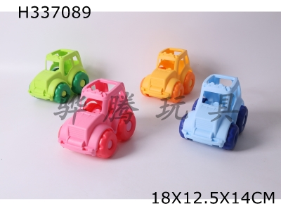 H337089 - Beach soft rubber car