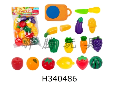 H340486 - 13 Fruits and Vegetables