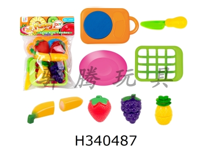 H340487 - 4 Fruits + Sieve Plate